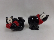 Kitty Salt & Pepper Shakers