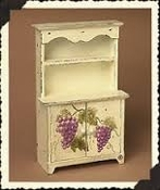 Claudette's French Country Hutch