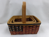 Dolly's Stars and Stripes Baskets