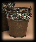 Thru the Bramble Pinecone Bucket (Small)