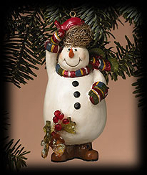 Frosty's Friend Ornament