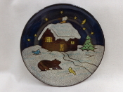 Holiday Home Dinner Plates