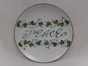 Peace Decorative Plate