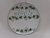 Noel Decorative Plate