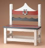 Andrew's Sailing Away Bench